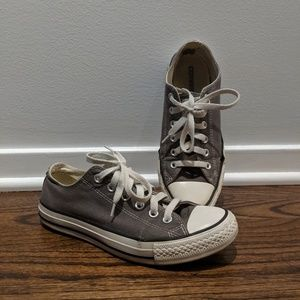 Gray Converse Chuck Taylor All Star Sneakers